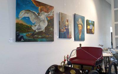 Expositie bij Gallerie Aaldering in Brummen